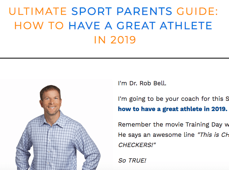ultimate sports parent guide